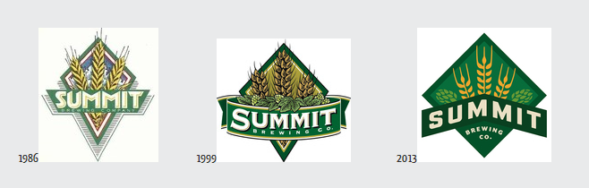 Summit Throwback labels