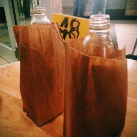 Brown bag 40s